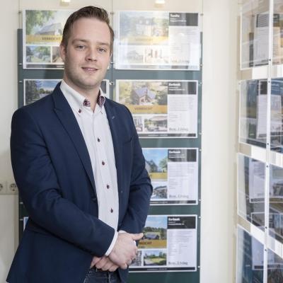 Joppe Boersma, kandidaat-makelaar bij Best Living in Eerbeek